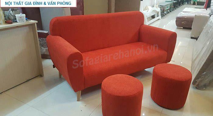 Hình ảnh mẫu ghế sofa nhỏ mini đẹp hiện đại với gam màu