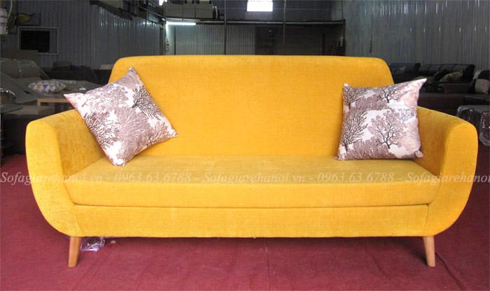 Hình ảnh Mẫu sofa văng nhỏ xinh cho không gian phòng khách nhỏ, nhà nhỏ