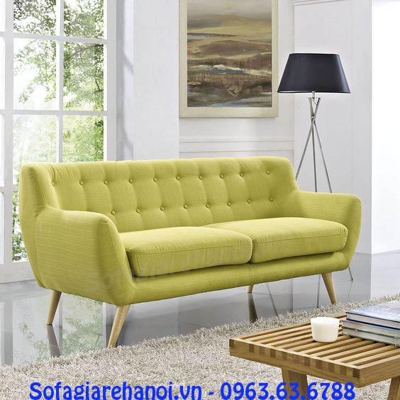 Hình ảnh sofa nhỏ mini đẹp hiện đại với thiết kế rút khu