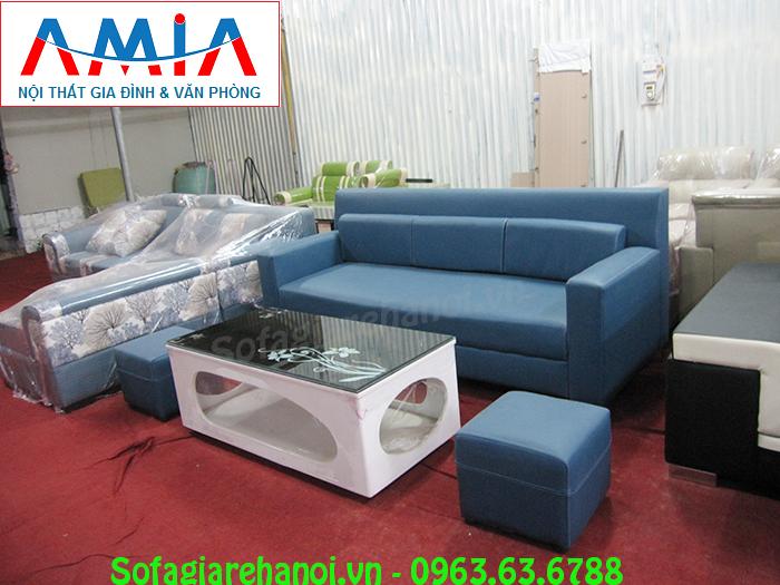 Hình ảnh sofa da nhỏ đẹp hiện đại và sang trọng với chất