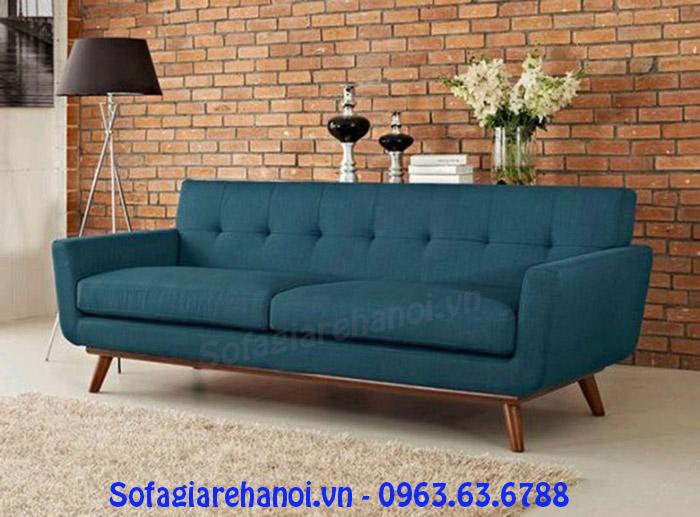 Hình ảnh mẫu ghế sofa nỉ văng thuộc dòng ghế sofa nhỏ Hà N