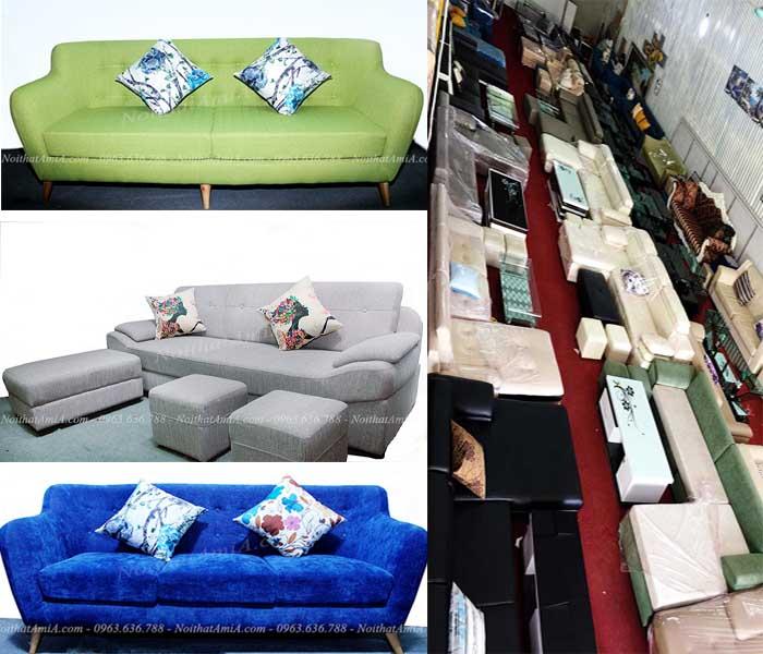 Hình ảnh 3 kiểu ghế sofa văng nỉ đẹp đang được yêu thích và ưa chuộng nhất hiện nay!