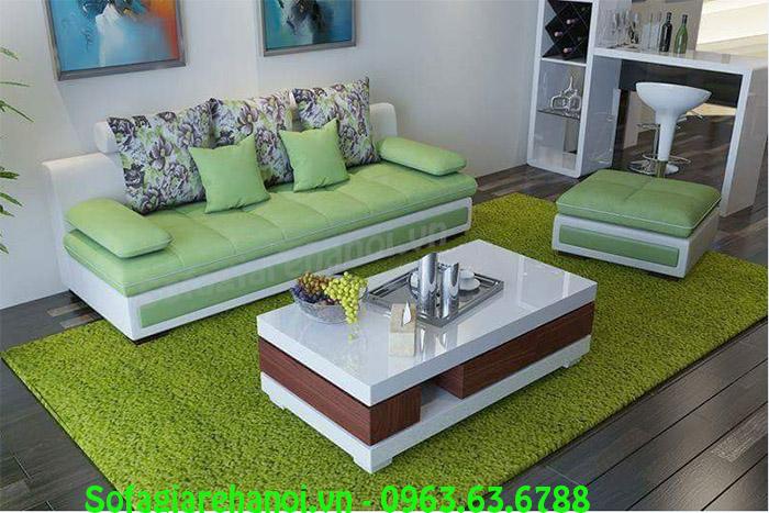 Hình ảnh mẫu ghế sofa nhỏ đẹp hiện đại với mẫu mã kiểu dáng được đổi mới thật mới lạ, độc đáo