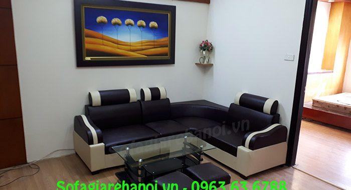 Hình ảnh mẫu ghế sofa giá rẻ bài trí trong phòng khách nhà ch