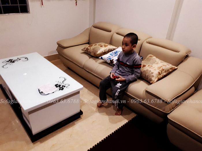 Hình ảnh mẫu ghế sofa văng đẹp cho phòng khách nhà chung cư