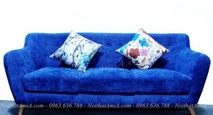 Hình ảnh ghế sofa văng nỉ đẹp 3 chỗ tại Tổng kho AmiA