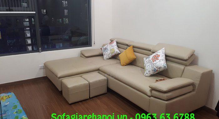 Hình ảnh sofa da cho chung cư đẹp hiện đại và sang trọng bài
