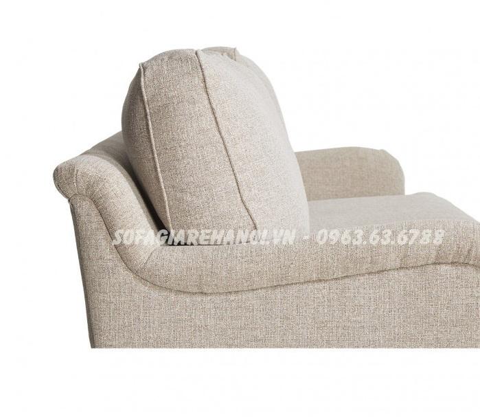 Hình ảnh ghế sofa nhỏ mini đẹp hiện đại với chất liệu nỉ đẹp