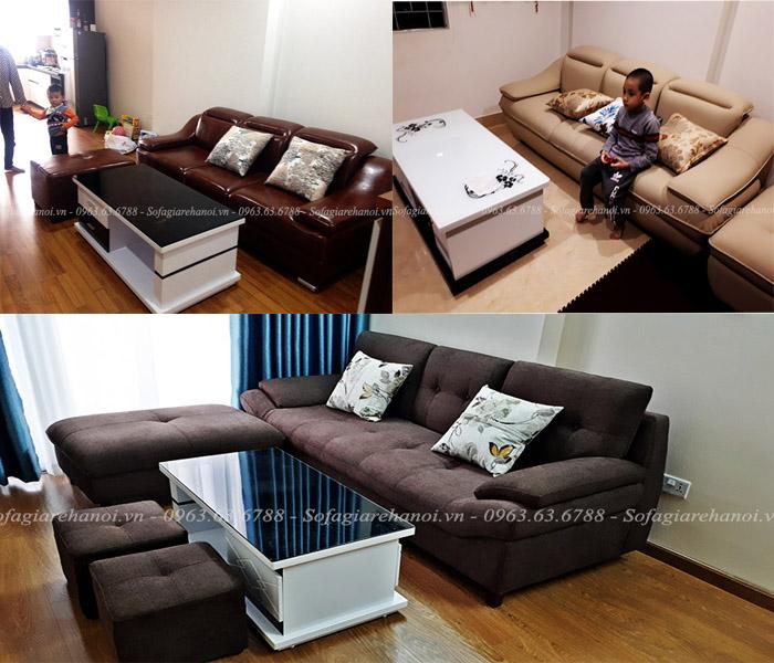 Hình ảnh các mẫu ghế sofa nhỏ mini đẹp tại Hà Nội