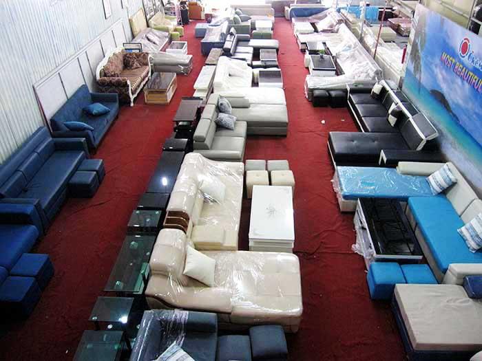 Hình ảnh các mẫu bàn ghế sofa đẹp tại Tổng kho AmiA