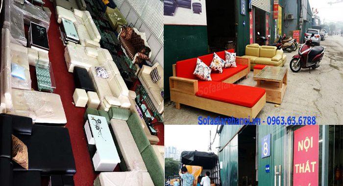 Hình ảnh tổng kho Nội thất AmiA - Địa chỉ mua sofa nhỏ đẹp tại Hà Nội