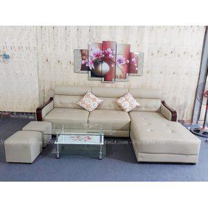 Hình ảnh đại diện cho mẫu ghế sofa da chữ L