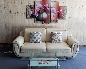 Hình ảnh đại diện cho mẫu ghế sofa văng đẹp nhỏ xinh xắn