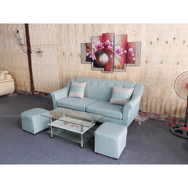 Hình ảnh đại diện cho mẫu sofa nhỏ mini đẹp, ghế sofa nhỏ đẹp hiện đại tại Hà Nội
