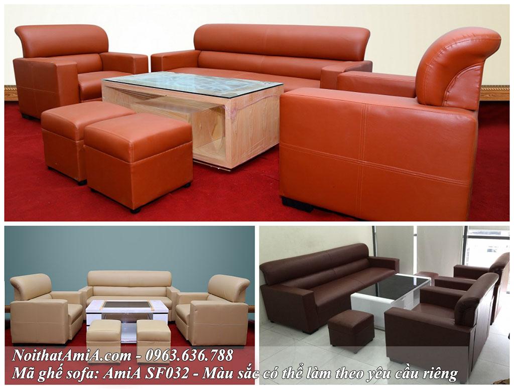 Hình ảnh mẫu bàn ghế sofa đẹp cho phòng làm việc, phòng khách công ty