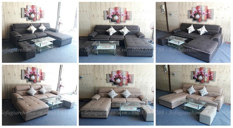 Hình ảnh Các mẫu sofa đẹp hiện đại tại Hà Nội cho phòng khách đẹp