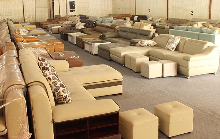 Hình ảnh Các mẫu sofa đẹp giá rẻ tại Nội thất AmiA