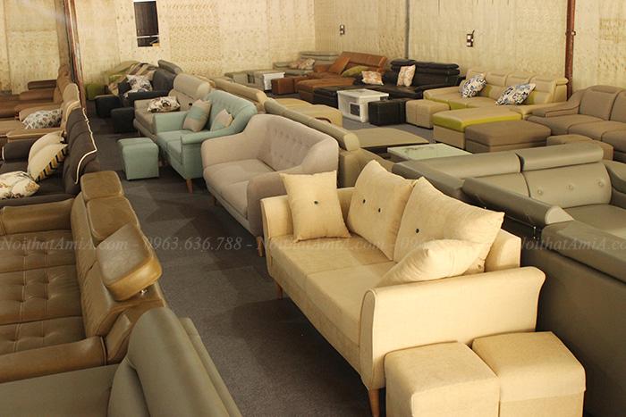 Hình ảnh Các mẫu sofa văng đẹp Hà Nội đang có sẵn rất nhiều tại Tổng kho Nội thất AmiA