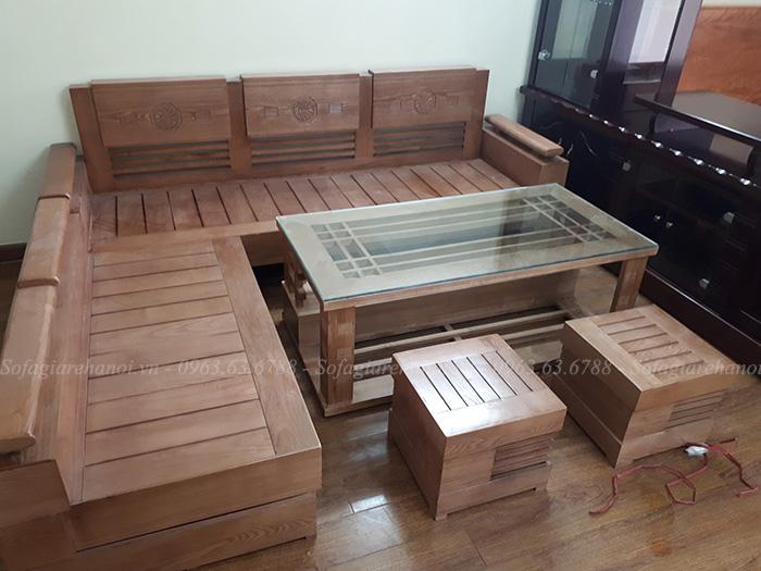 Hình ảnh mẫu ghế sofa gỗ đẹp hiện đại và sang trọng cho phòng khách gia đình bạn