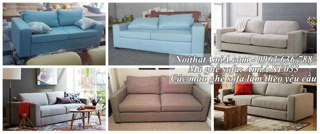 Hình ảnh mẫu ghế sofa nhỏ mini đẹp AmiA SF055