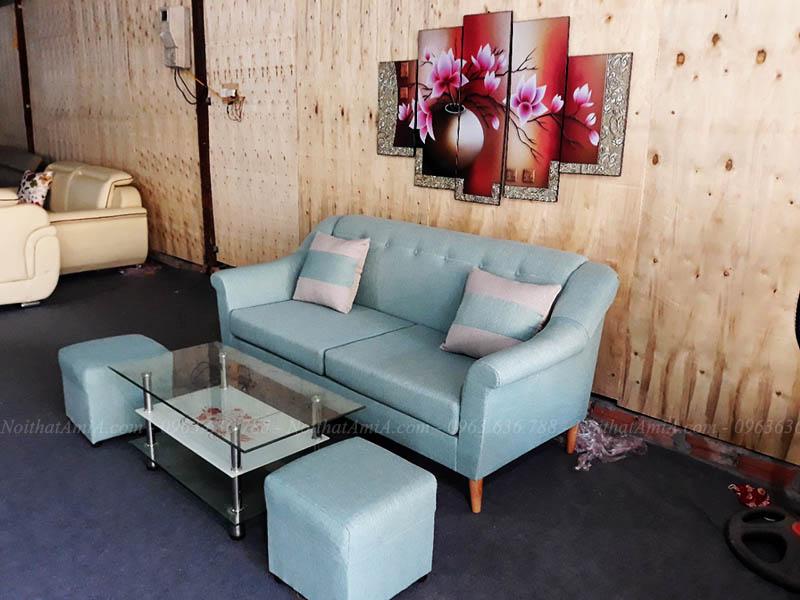 Hình ảnh Mẫu ghế sofa nhỏ xinh đẹp cho căn phòng khách nhỏ
