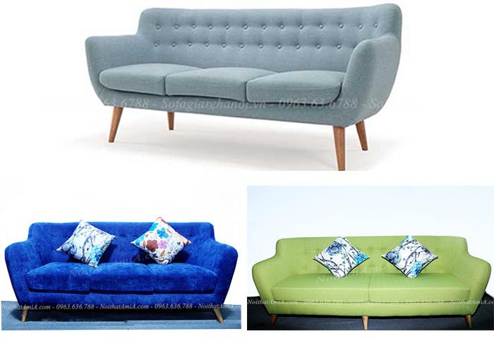 Hình ảnh các mẫu ghế sofa nhỏ xinh cho căn hộ nhà chung cư