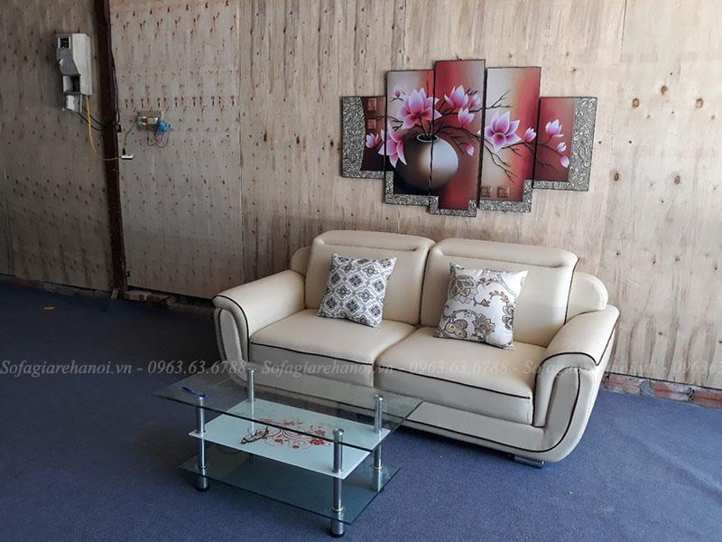 Hình ảnh Bộ ghế sofa đẹp dạng văng cho không gian nhỏ xinh
