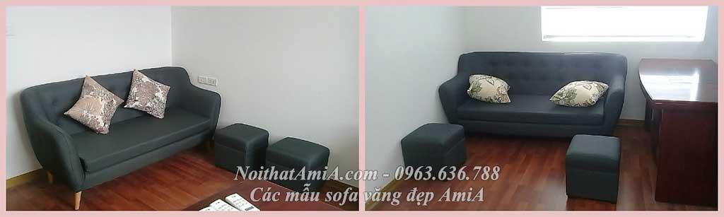 Hình ảnh mẫu ghế sofa văng đẹp 095 được cải tiến so với