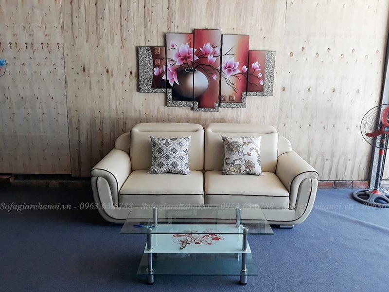 Hình ảnh Mẫu ghế sofa văng đẹp nhỏ xinh thiết kế 2 chỗ