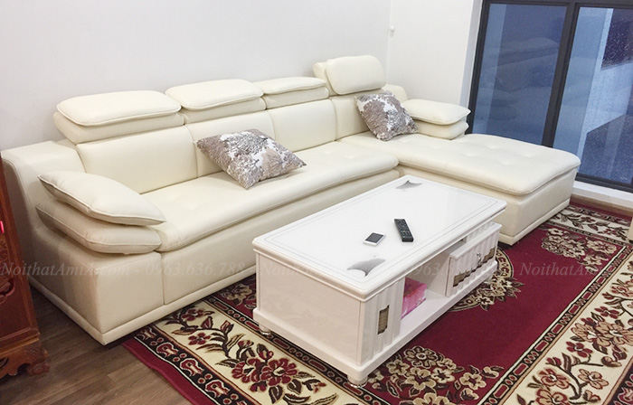 Hình ảnh Mẫu ghế sô pha đẹp hiện đại tại Hà Nội cho phòng khách gia đình