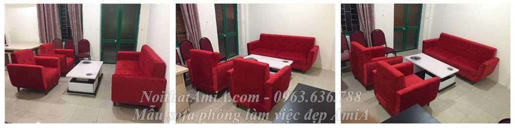 Hình ảnh mẫu sofa đẹp cho phòng làm việc hiện đại và sang trọng