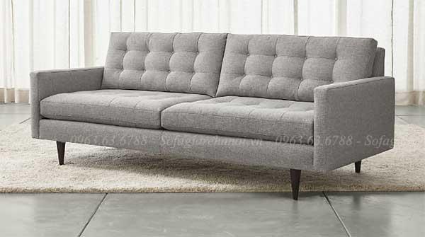 Hình ảnh sofa đẹp với thiết kế dạng văng kích thước nhỏ