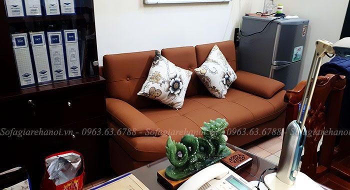 Hình ảnh mẫu ghế sofa nhỏ đẹp làm theo yêu cầu khi về nhà khách hàng