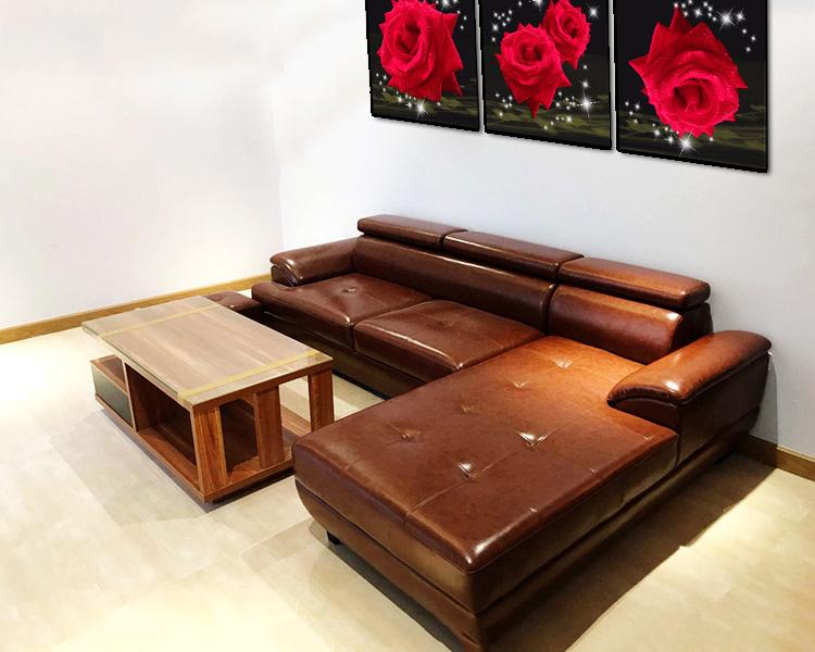 Hình ảnh Ghế sopha đẹp hiện đại bài trí trong không gian căn phòng khách đẹp