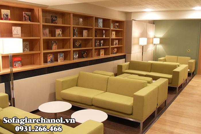 Hình ảnh Bàn ghế sofa cafe đẹp hiện đại tại Hà Nội
