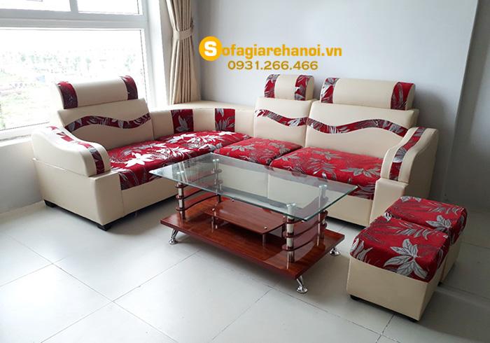 Hình ảnh 20+ bàn ghế sofa giá rẻ hơn 2tr một bộ Không Mua Hơi Phí!