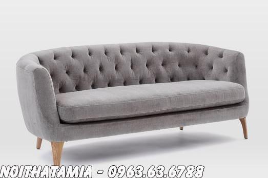 Hình ảnh Ghế ngồi spa đẹp hiện đại và sang trọng với thiết kế rút khuy