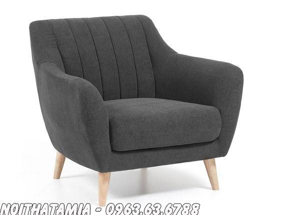 Hình ảnh Ghế sofa cafe thiết kế kiểu ghế sofa đơn đẹp hiện đại