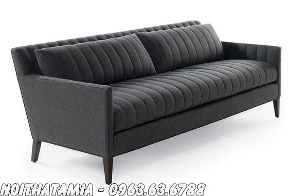 Hình ảnh Ghế sofa spa đẹp hiện đại với thiết kế kẻ viền mới lạ, độc đáo