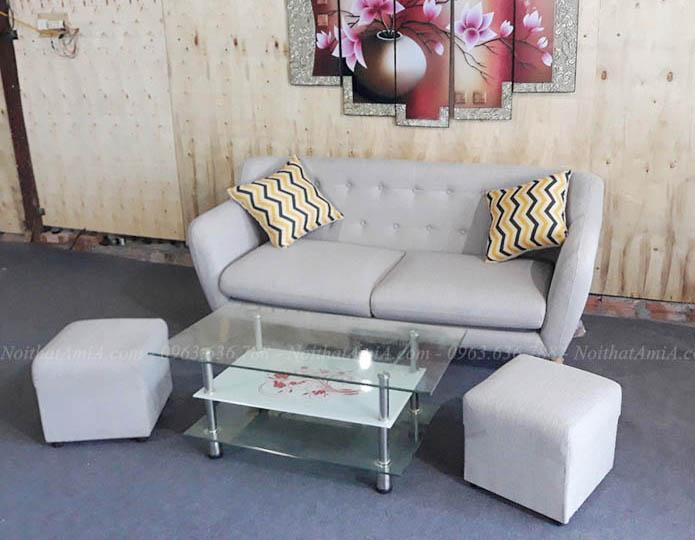 Hình ảnh Ghế sofa văng đẹp chụp tại Tổng kho AmiA