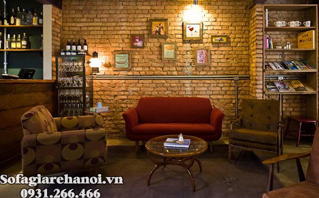 Hình ảnh ghế sofa cafe đẹp tại Hà Nội