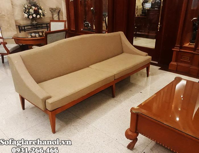 Hình ảnh Mẫu ghế sofa cafe tại Hà Nội thiết kế dạng ghế văng