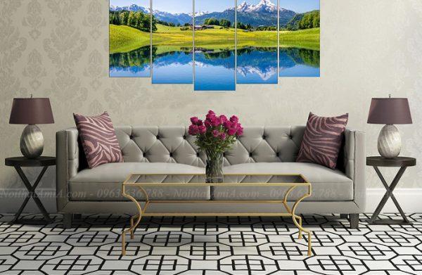 Hình ảnh Mẫu ghế sofa văng đẹp hiện đại và sang trọng cho không gian căn phòng đẹp