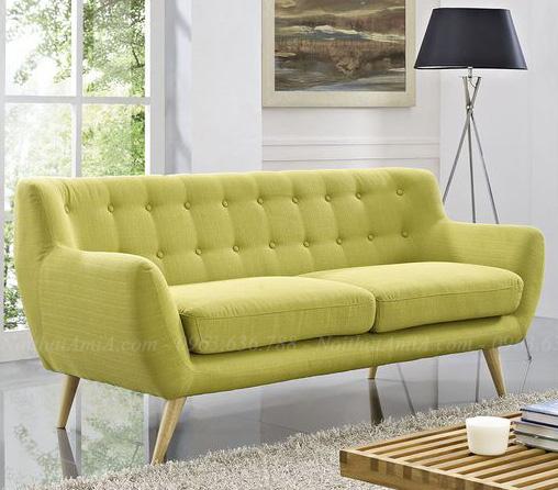 Hình ảnh Mẫu sofa đẹp nỉ dạng văng cho không gian căn phòng khách đẹp