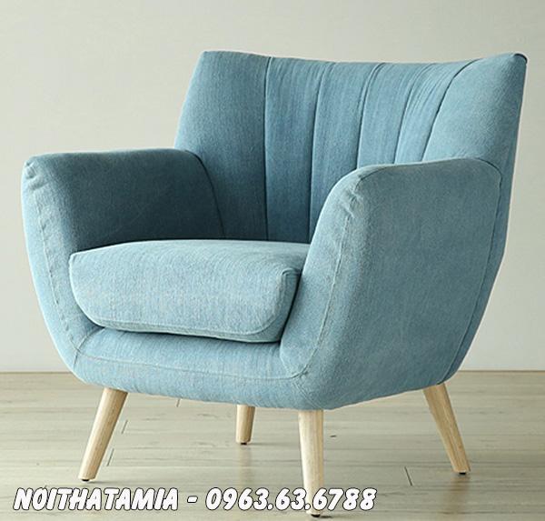 Hình ảnh Ghế sofa cafe đẹp thiết kế kiểu sofa đơn nhỏ xinh