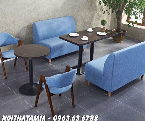 Hình ảnh Những mẫu sofa cafe giá rẻ đẹp hiện đại tại Hà Nội