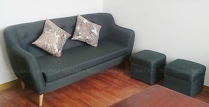 Hình ảnh Sofa văng đẹp Hà Nội cho phòng khách nhỏ, nhà nhỏ, nhà chung cư