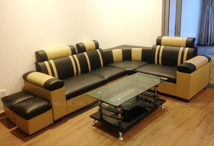 Hình ảnh Các mẫu ghế sofa da đẹp giá rẻ tại Nội thất AmiA
