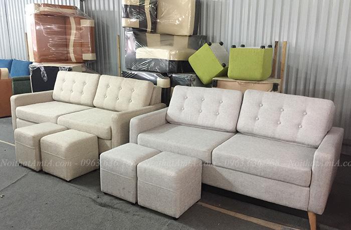 Hình ảnh Các mẫu sofa văng kích thước nhỏ xinh đẹp hiện đại