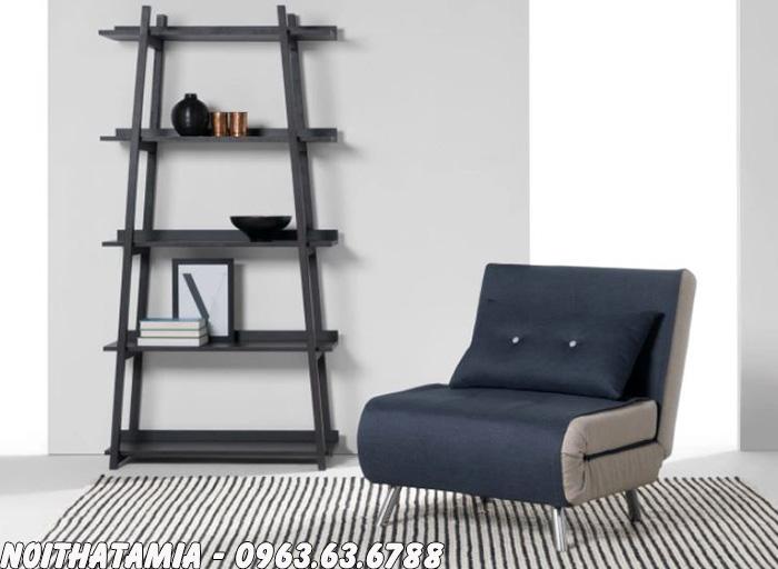 Hình ảnh Ghế ngồi trong phòng ngủ thiết kế dạng ghế sofa đơn